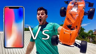 Download DODGING IPHONES WITH RC CARS!! Video