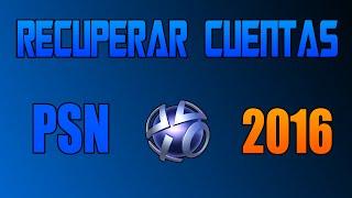 Download Recuperar Cuenta De PSN 100% 2016 | Muy Facil y Rapido. Video
