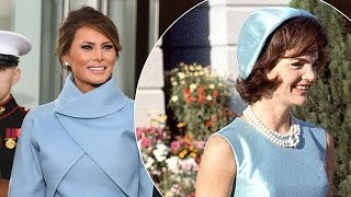 Download Melania Trump Copies Another First Lady, Uses Jackie Kennedy as Inspiration for Inauguration Dress Video
