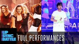 "Download David Spade's ""Wake Me Up Before You Go-Go"" vs. Nina Agdal's ""Lose Control"" 
