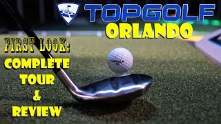 Download Topgolf Orlando FIRST LOOK Complete Tour & Review Of Game Play, Food, Drinks, & More! Video