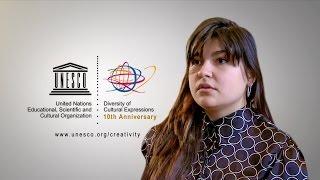 Download Oleksandra Vysohanska speaks about the 2005 UNESCO Convention Video