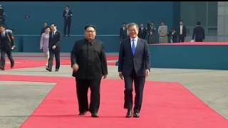 Download KIM JONG UN AND MOON JAE-IN MEET FOR INTER-KOREAN SUMMIT Video