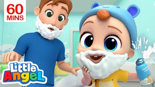 Download Daddy is My Hero | My Daddy Song & More Little Angel Kid Songs Video