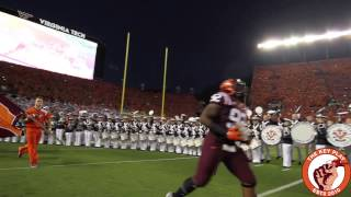 Download The Virginia Tech Hokies enter Lane Stadium to Enter Sandman Against the Ohio State Buckeyes in 2015 Video
