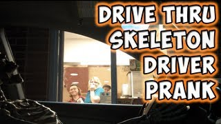 Download Drive Thru Skeleton Driver Prank Video