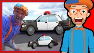 Download Blippi Police Car Tour | Songs for Kids of the Police Car Song Video