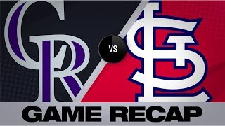 Download Ozuna, Flaherty lead Cardinals to 8-3 win | Rockies-Cardinals Game Highlights 8/23/19 Video