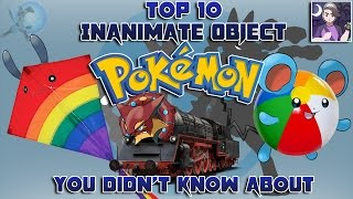 Download Top 10 Inanimate Object Pokémon You Didn't Know About (Feat. Speqtor) Video