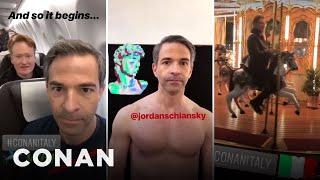 Download Conan & Jordan's Instagram Stories From #ConanItaly - CONAN on TBS Video