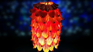 Download DIY Christmas Crafts : How to Make Beautiful Diwali & Christmas Lantern from Plastic Spoons Video