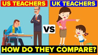 Download US Teachers vs UK Teachers - How Do They Compare? Hours & Salary Comparison Video
