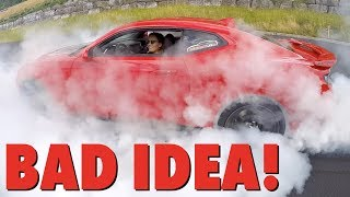 Download Teaching My Girlfriend How To Do A BURNOUT!! I Can't Believe What Happens... Video