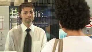 Download Buying a train ticket Video