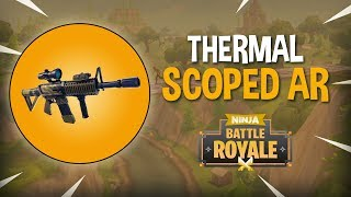 Download New Thermal Scoped AR!! - Fortnite Battle Royale Gameplay - Ninja Video