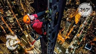 Download Climbing 1 World Trade Center: Man on Spire | 360 VR Video | The New York Times Video