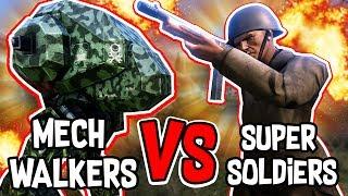 Download 250 ROBOTS VS 500 HUMANS!! - Ultimate Epic Battle Simulator #6 Video