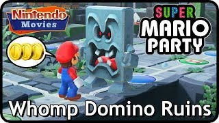 Download Super Mario Party: Whomp Domino Ruins (2 players, 20 turns, Very Hard) Video