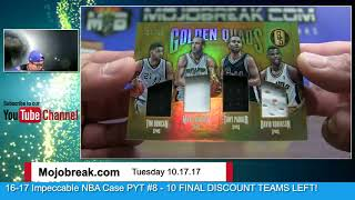 Download 10/17 - 2016-17 Panini NBA Gold Standard 6 Box Half Case eBay Break PYT #25 Video