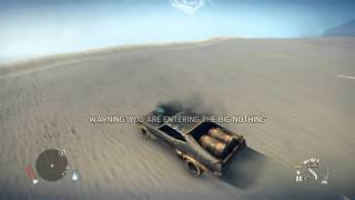 Download Mad Max Game - Big Nothing in the Interceptor Video