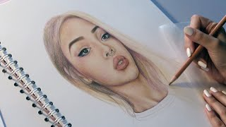 Download Lily Maymac Speed Drawing // Faber Castell Polychromos Coloured Pencils Video