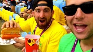 Download Dude Perfect Invades A World Cup Game! Video