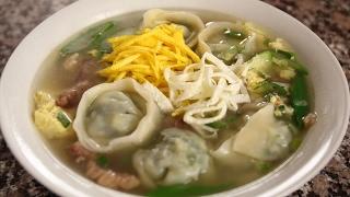 Download Dumpling soup (Mandu-guk: 만두국) Video