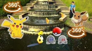 Download VR 360 Pokemon Go VR Pikachu & Friends [Google Cardboard VR Box 360] Virtual Reality Video 360 VR 4K Video