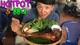 Download PASSION FRUIT Hotpot & WATER BUFFALO BBQ in Saigon Vietnam Video