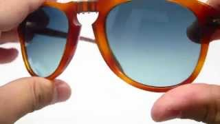Download Persol 714-SM Steve McQueen 96/S3 Sunglasses Video