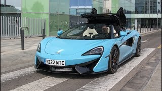 Download McLaren 570S Spider x15!! - Start Up, Roof Operation, Details and more! Video