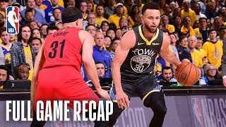Download TRAIL BLAZERS vs WARRIORS | Stephen & Seth Curry Shine in Epic Match-up | Game 2 Video