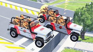 Download Epic High Speed Jumps #27 – BeamNG Drive Video