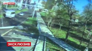 Download Russian Driver Walks Away After 105 MPH Crash In His Nissan GT-R Hitting Electricity Pole Video