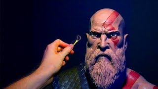 Download Sculpting Kratos from God of War 4 2018 in Monster Clay! Video