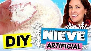 Download NIEVE artificial casera muy fácil* 3 RECETAS de nieve instantanea Video