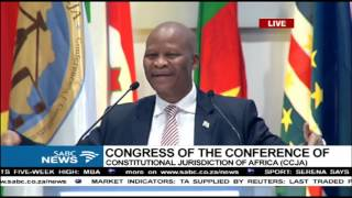 Download Chief Justice Mogoeng's keynote address at the 4th CCJA Congress Video