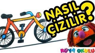 Download Bisiklet Nasıl Çizilir? - İki Tekerlekli Bisiklet - 🚲 - Çocuklar İçin Resim Çizme - RÜYA OKULU Video