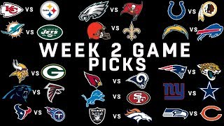 Download Week 2 NFL Game Picks | NFL Video