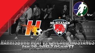 Download Harrisburg Heat vs Chicago Mustangs Video