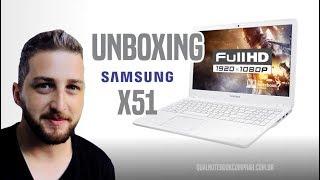 Download Unboxing Novo Notebook Samsung Expert X51 versão 2017 com Core i7 de 7ª Geração Video