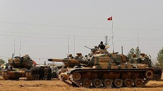Download Two Turkish soldiers go missing in Syria Video