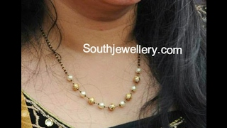 Download Latest Nallapusalu Chain Designs With Ideas Video