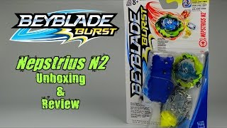 Download Beyblade Burst by Hasbro - Starter Pack NEPSTRIUS N2 Unboxing & Review!! Video