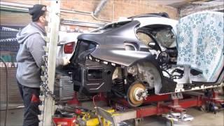 Download BMW 3. Body repair. Ремонт кузова. Video
