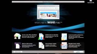 Download Microsoft Office 2011 Mac Home & Student Edition - Installation Overview & First Look Video