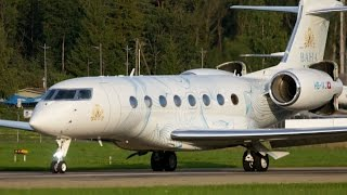 Download Amazing Short Take-Off Gulfstream G650 - Special Livery Video