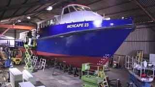 Download 23 metre work boat aluminum time lapse build Video