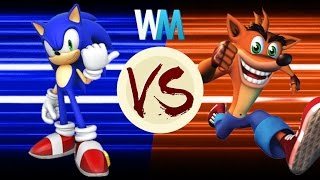 Download Sonic Vs Crash: Who Would Win? Video