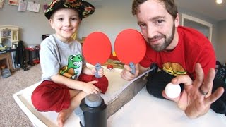 Download FATHER SON MINI PING PONG! Video